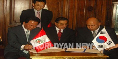 국회 페루 의회사무처와 협력의정서 체결