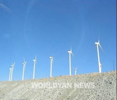 바다위 대규모 풍력발전소 단지 조성