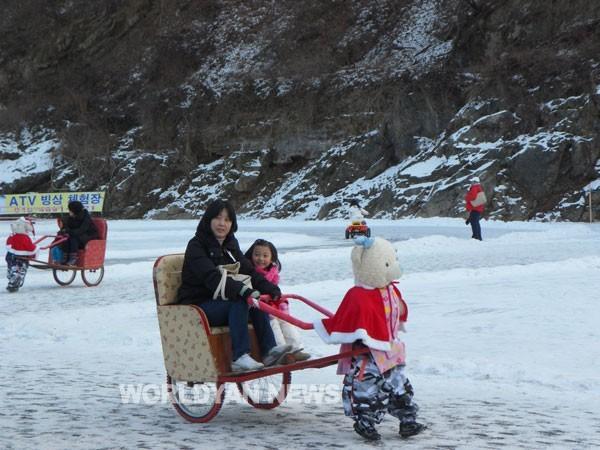 청평 얼음꽃송어축제
