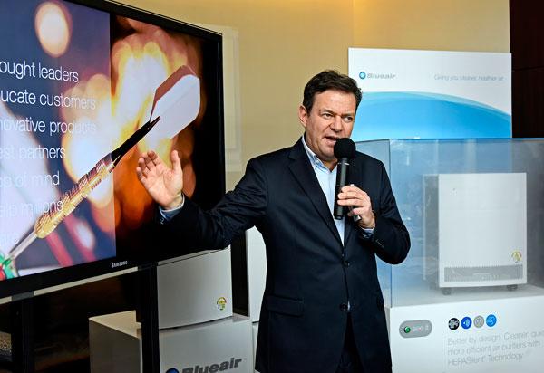 헤파사일런트 특허 기술 공기청정기 '블루에어 E 시리즈'