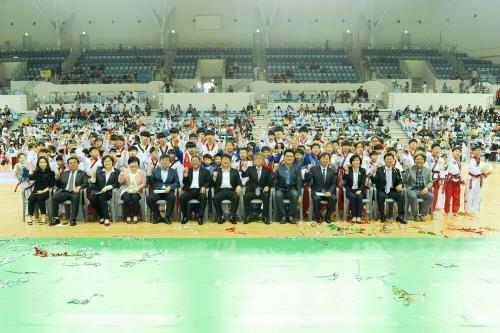 인천계양구청장기 태권도 대회 성황