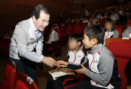충남선수단  '제45회 전국소년체육대회' 선전 다짐