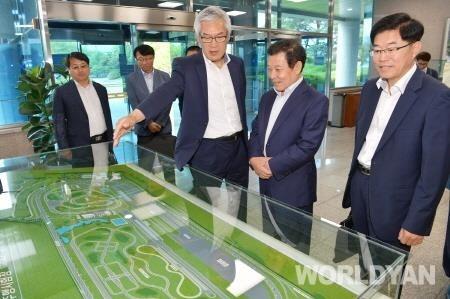 친환경차 선도도시 광주시, 자동차안전연구원과 협력