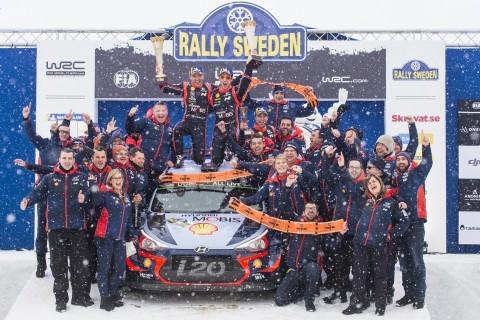 현대자동차, 2018 WRC 첫 우승